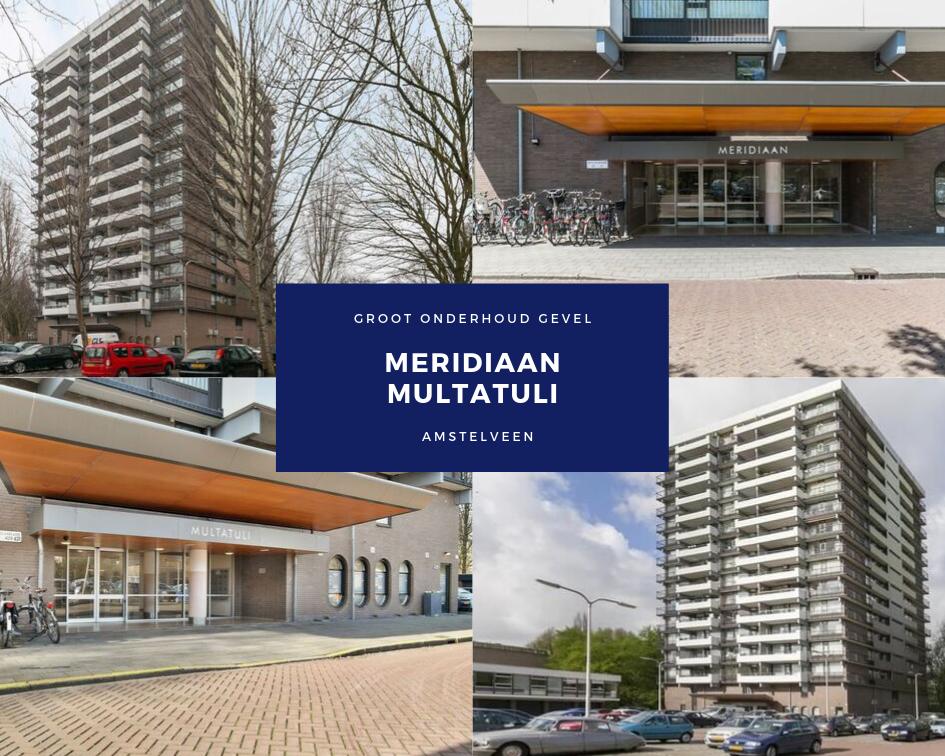 Onderhoudswerkzaamheden Gevel Meridiaan
