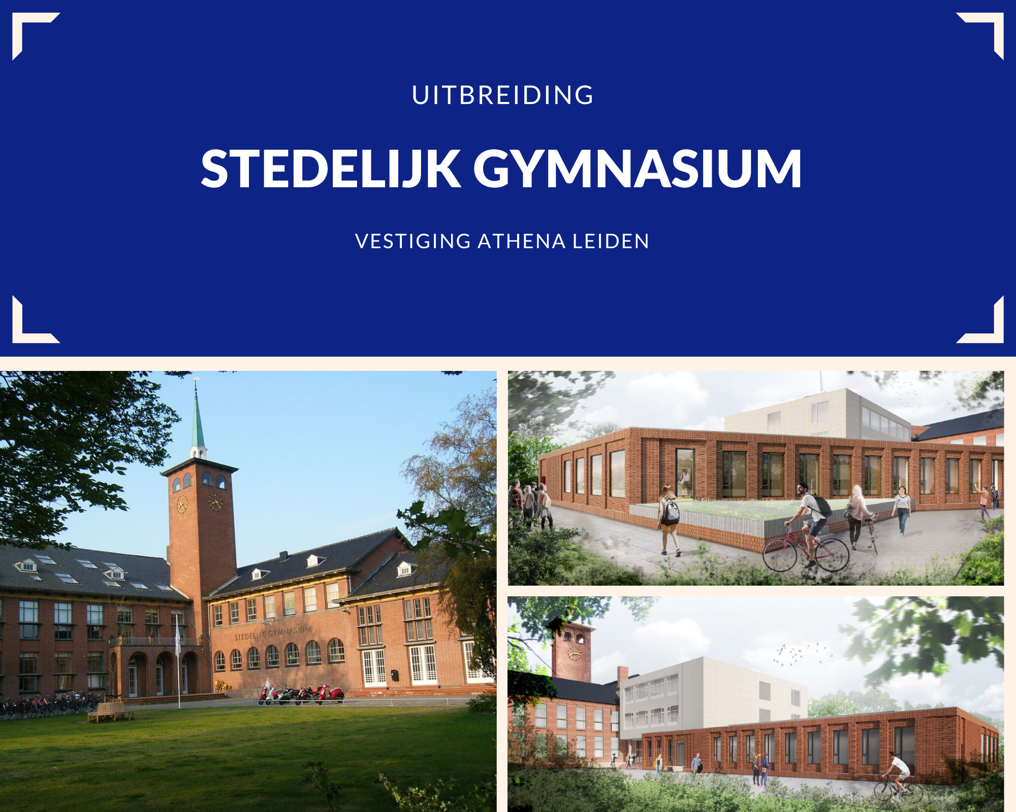 Uitbreiding Stedelijk Gymnasium Leiden