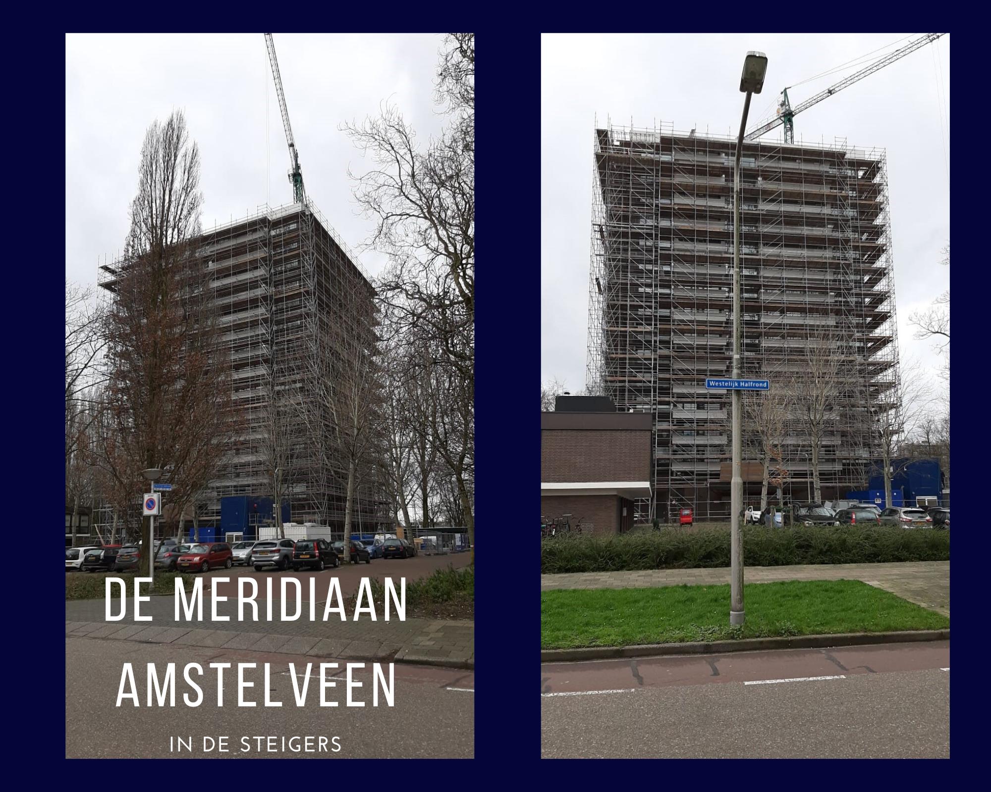 De Meridiaan In De Steigers