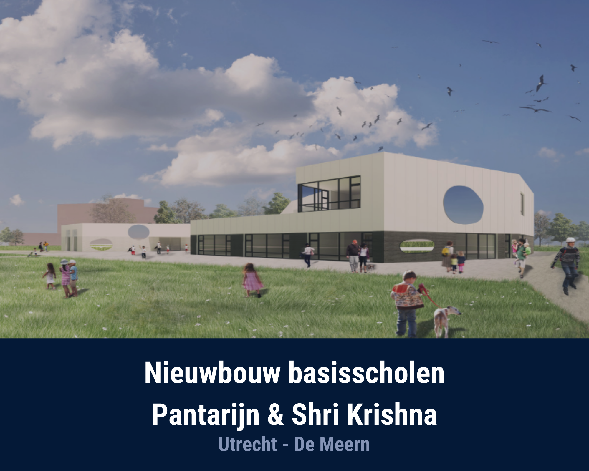 Nieuwbouw Basisscholen Pantarijn & Shri Krishna