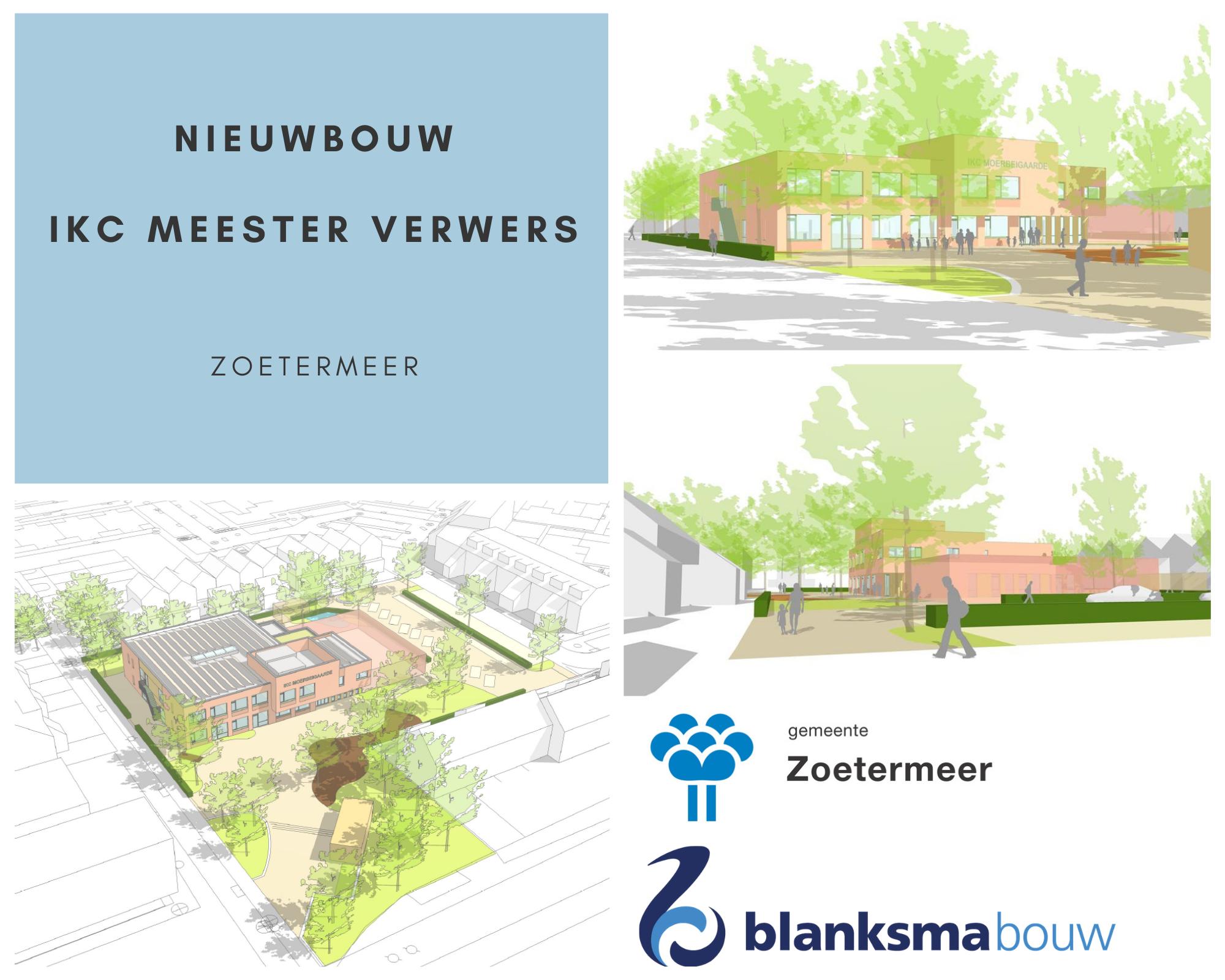 Nieuwbouw IKC Meester Verwers Zoetermeer