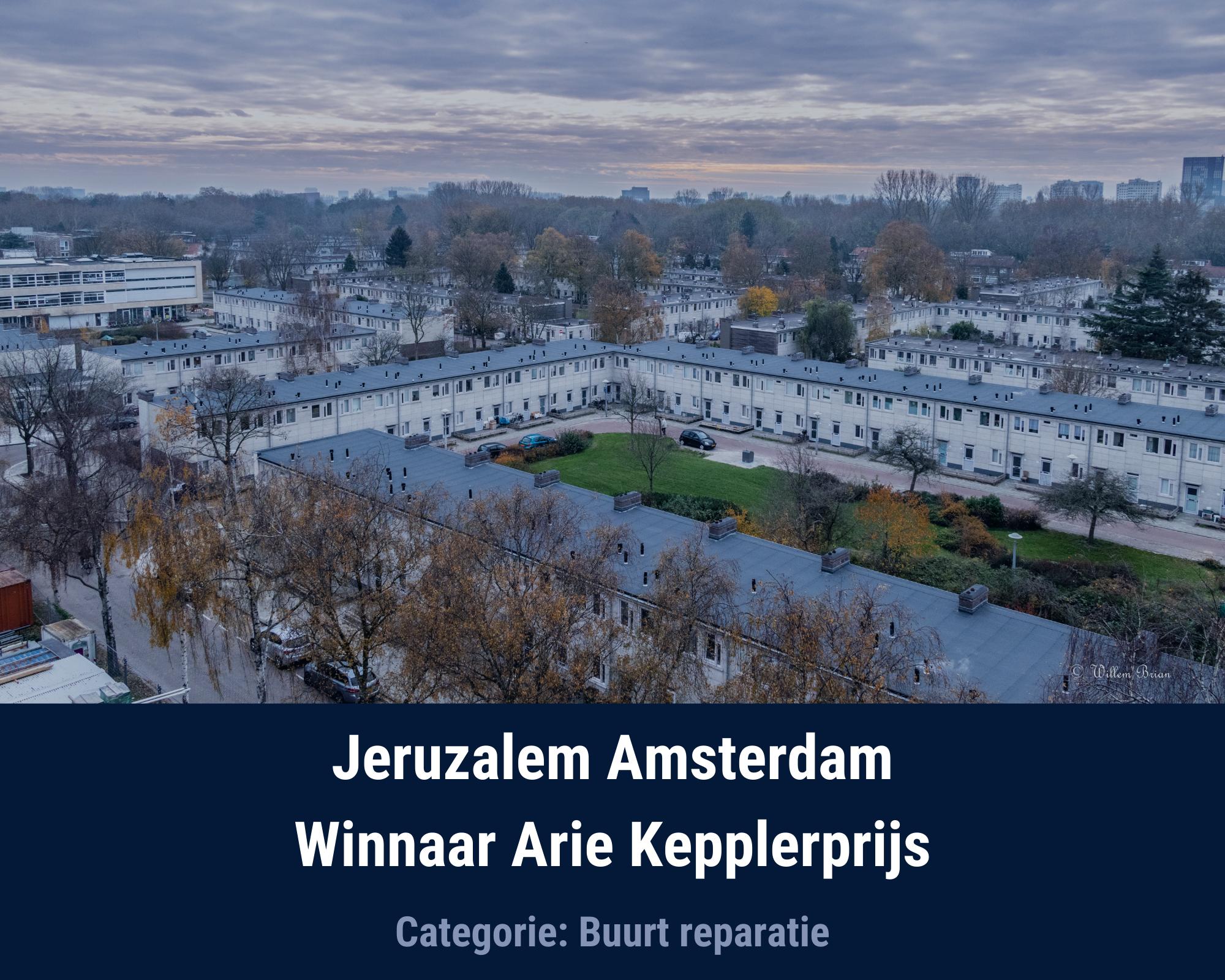 Jeruzalem Winnaar Arie Kepplerprijs 2020
