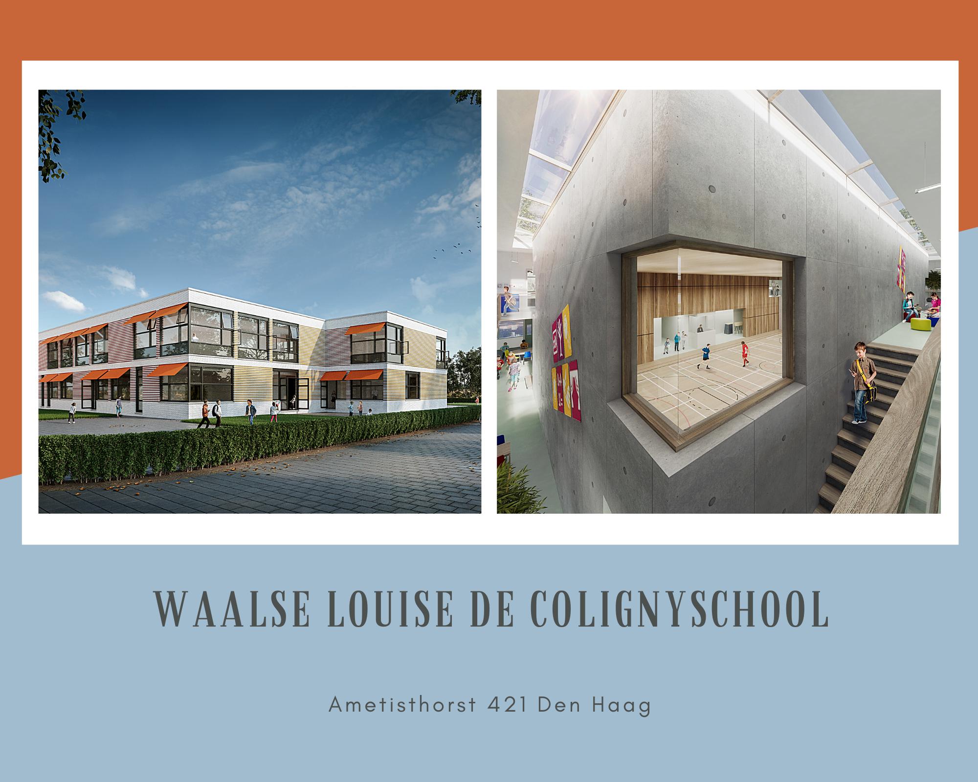 Nieuwbouw Waalse Louise De Colignyschool Den Haag