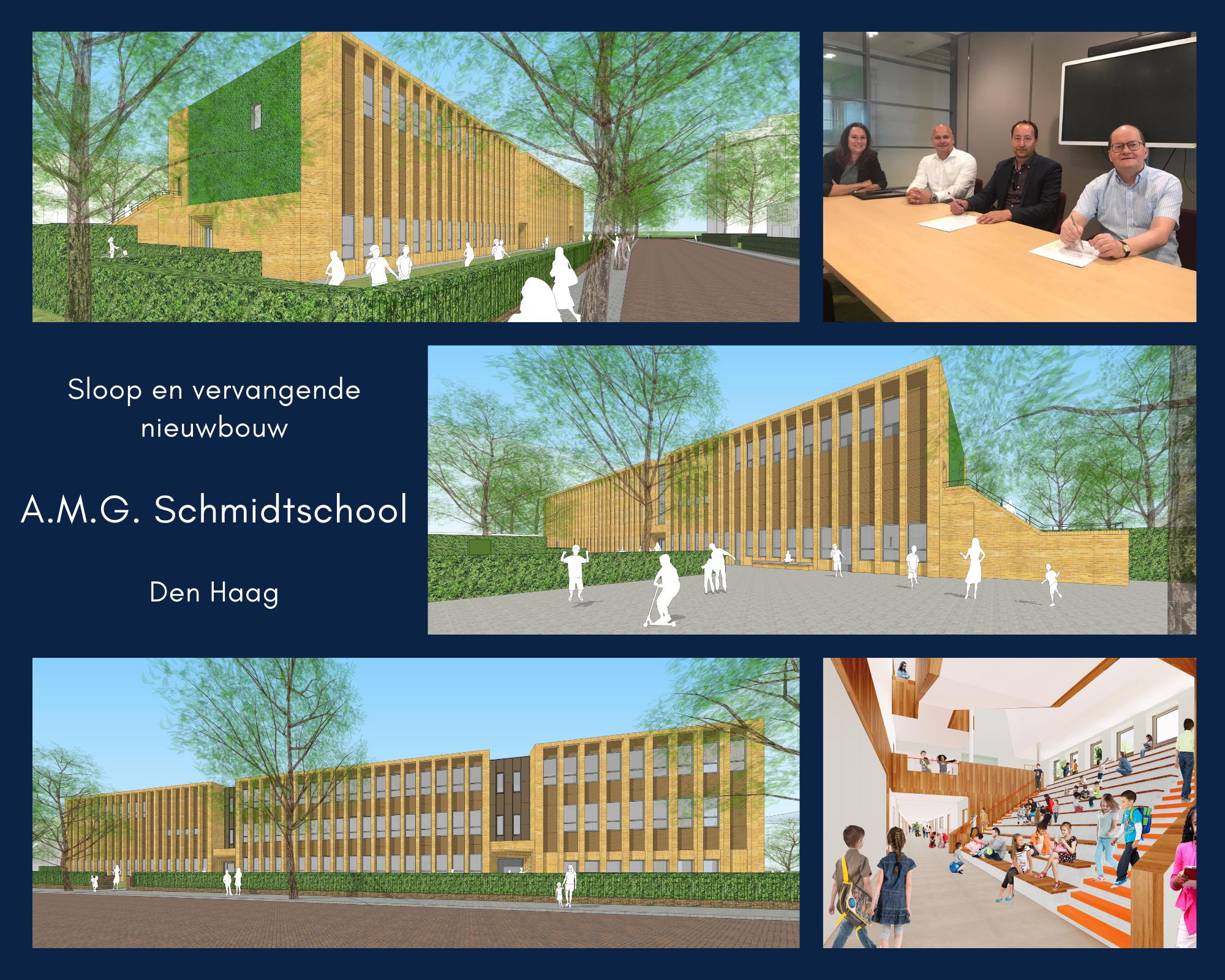 Nieuwbouw A.M.G. Schmidtschool
