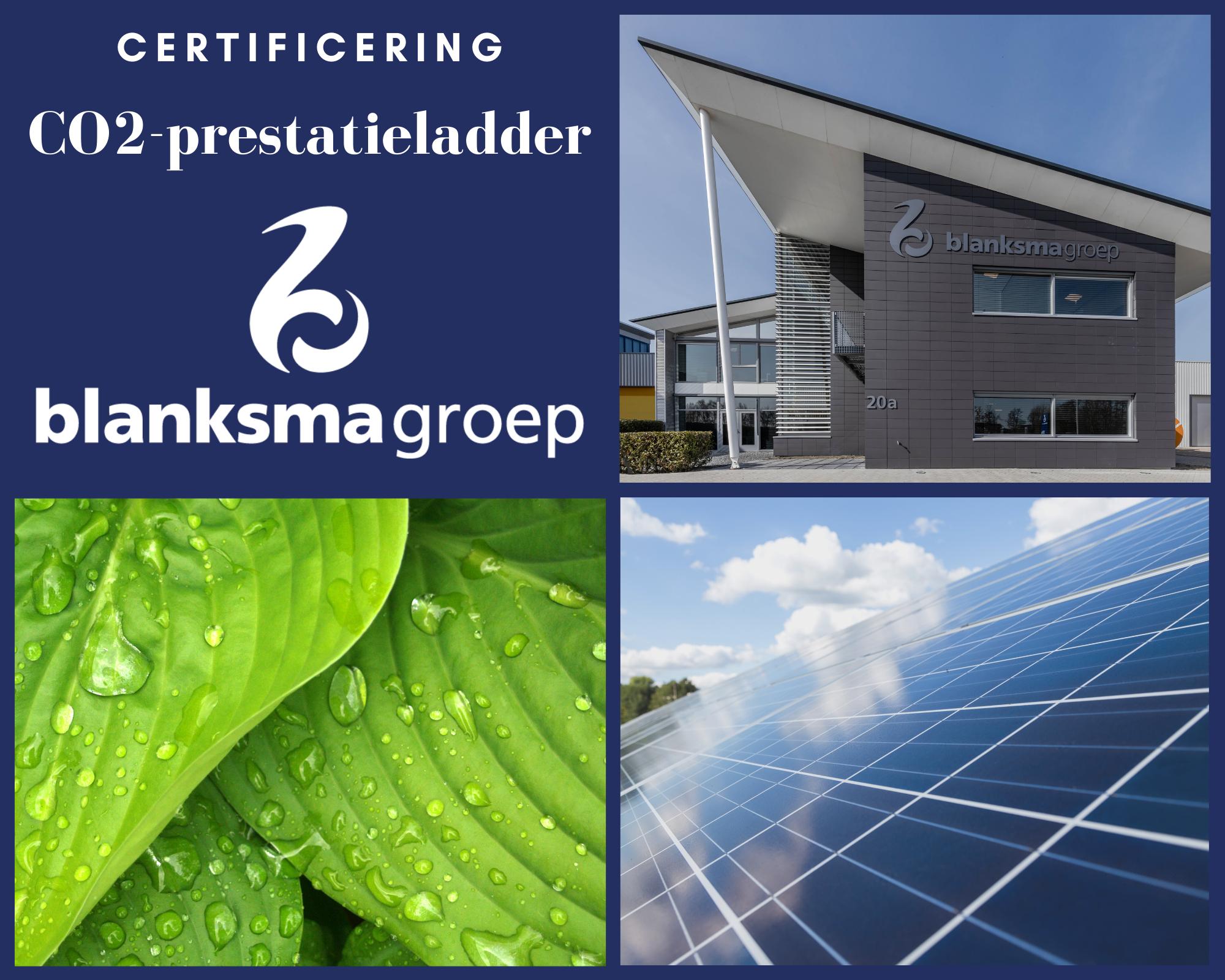 Certificering CO2-prestatieladder